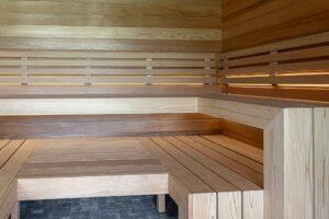 Sauna sisustus