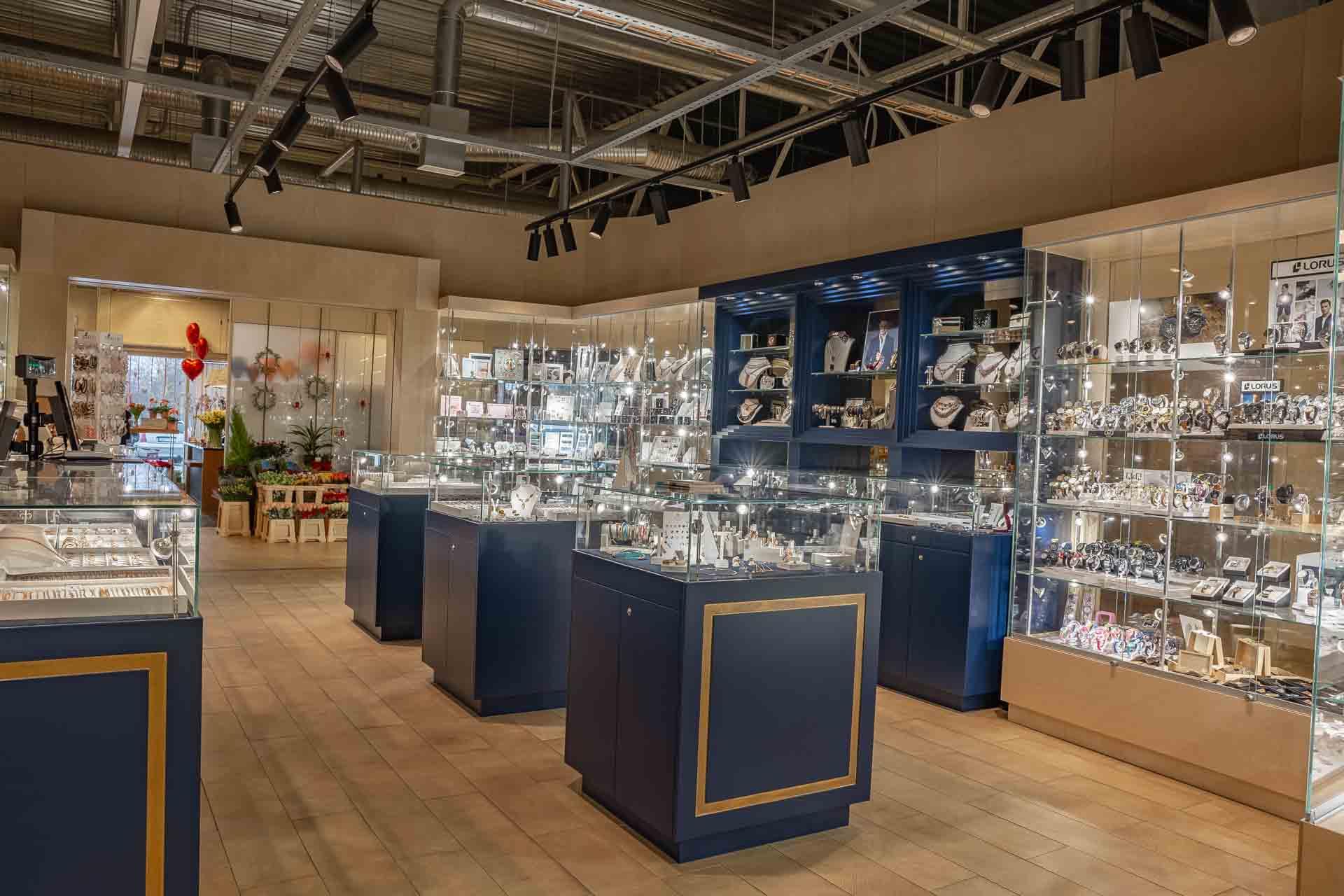 Jewelry store furniture