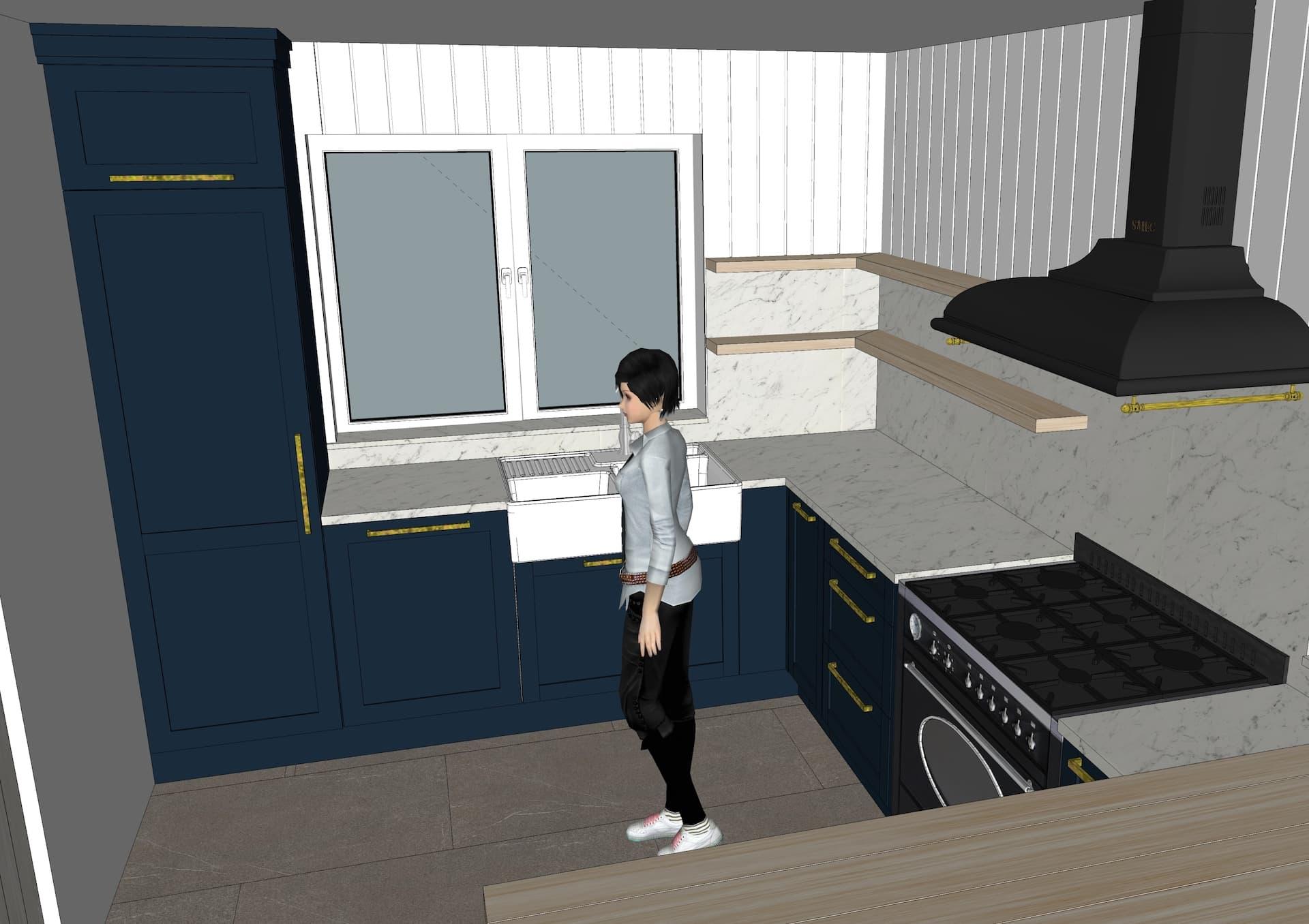 Kitchen appliances design