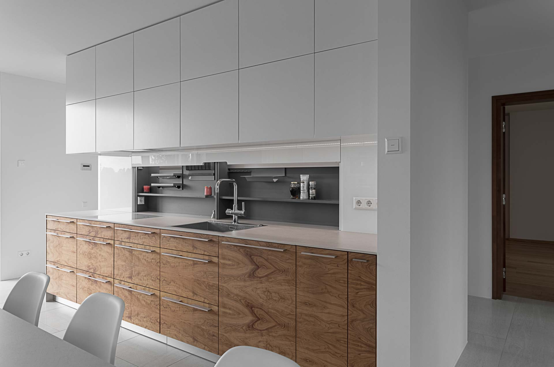 Kitchen furniture home open
