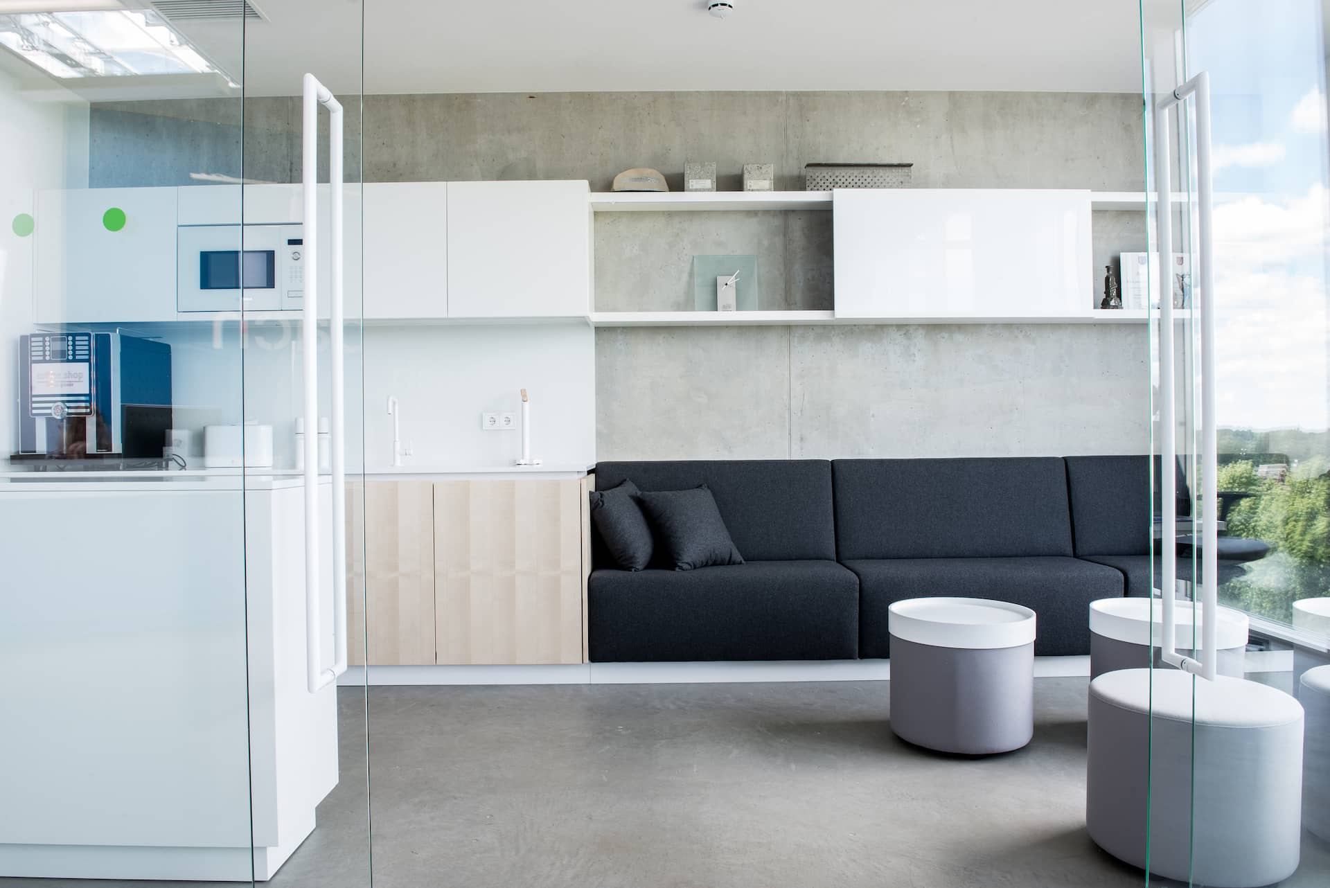 Kitchenette in the office