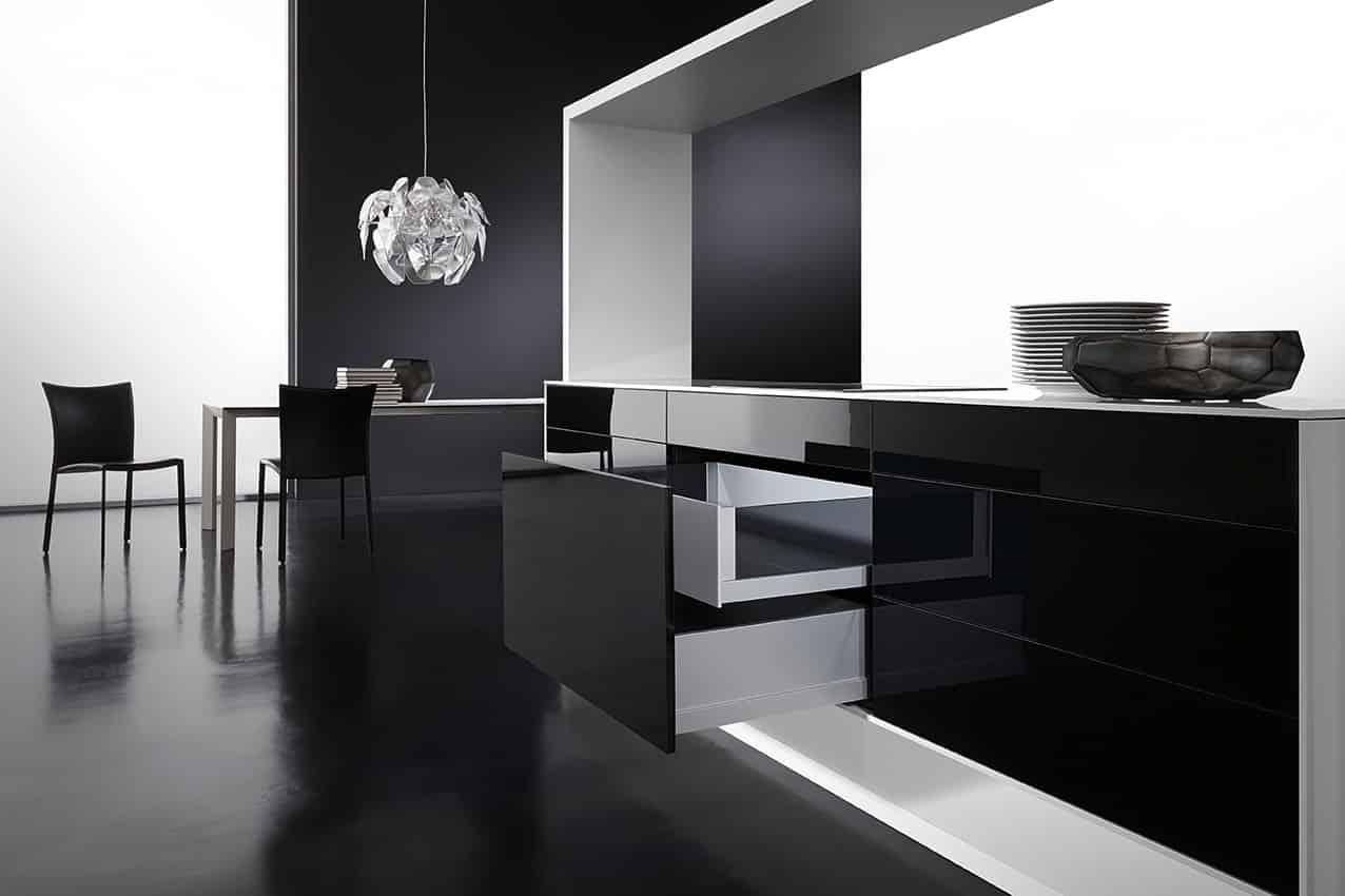 Modern kitchen furniture