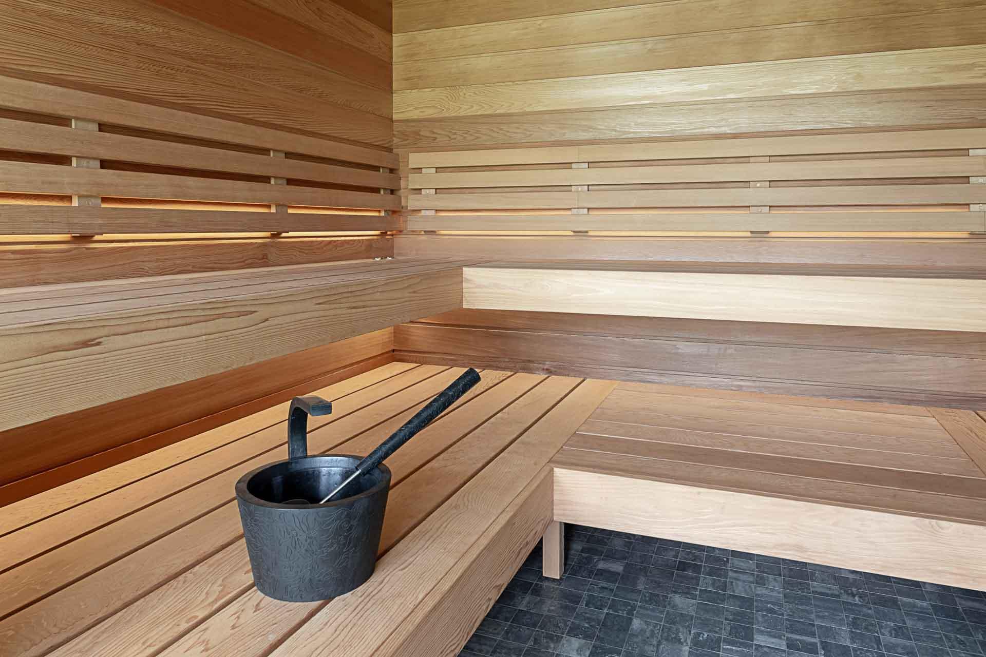 Sauna furniture