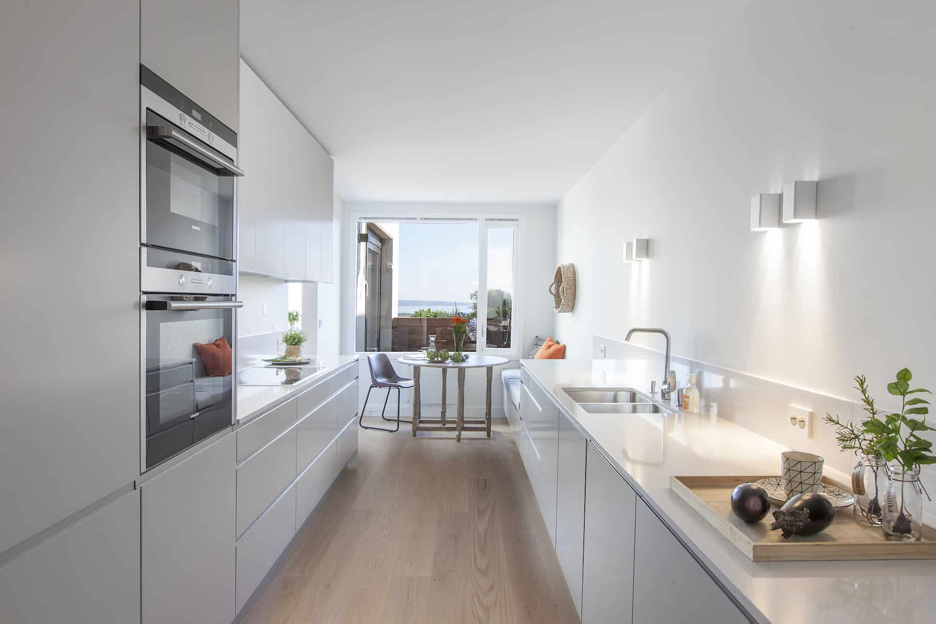 White kitchen furniture in norway